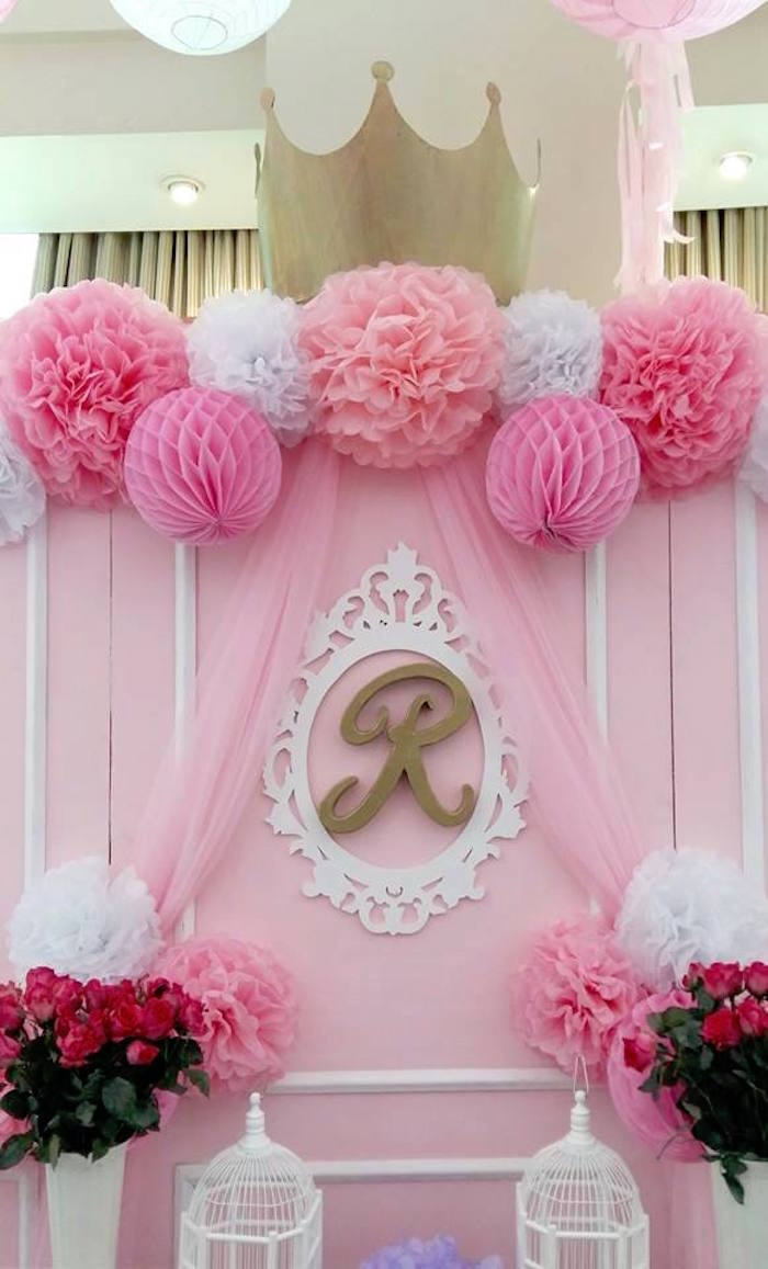 Bapt me th me rose gourmandise royaume princesse acidul for Decoration ka photo